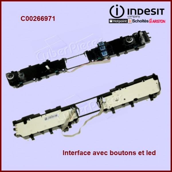 Interface avec boutons et led C00266971