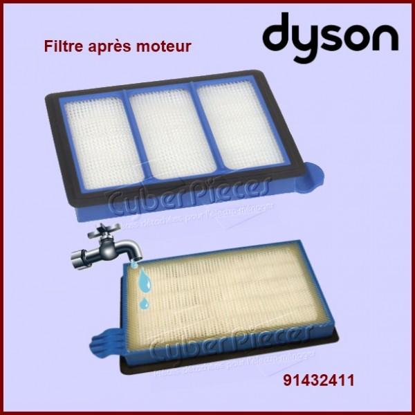 filtre apr s moteur dyson 91432411 pour aspirateur petit electromenager pieces detachees. Black Bedroom Furniture Sets. Home Design Ideas