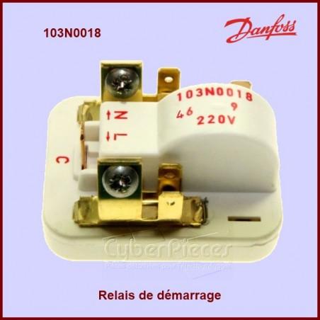 Relais de démarrage Danfoss 103N0018