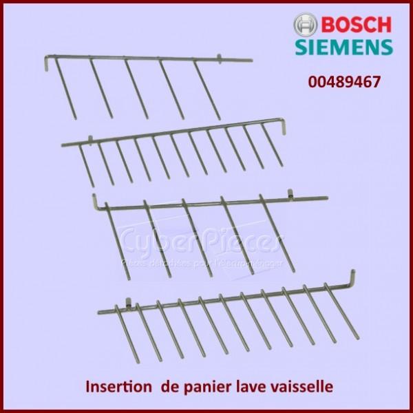 Insertion panier lave vaisselle bosch 00489467 pour lave vaisselle lavage pieces detachees - Panier lave vaisselle bosch ...