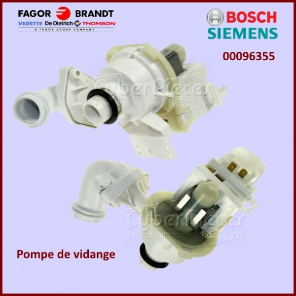 Pompe de vidange Bosch 00096355  - version d'origine