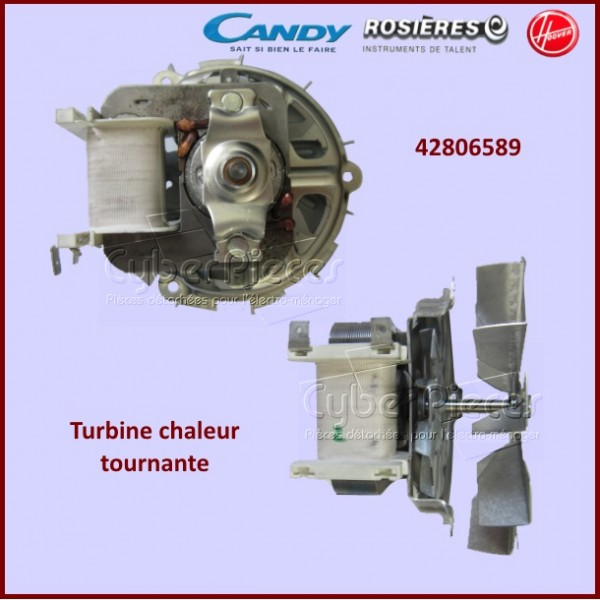 Turbine chaleur tournante Candy 42806589