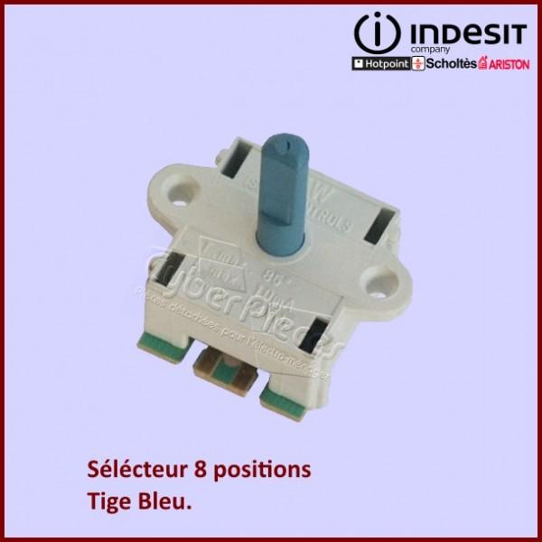 Commutateur 8 positions - Tige Bleu C00087258