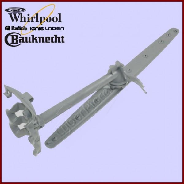 Ensemble bras + raccord 2 niveaux Whirlpool 480140101393