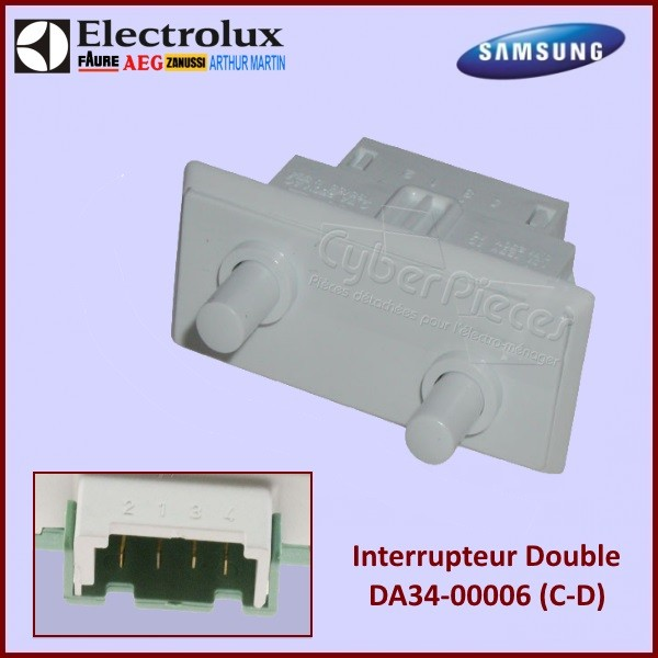 Double Interrupteur DA34-00006C Samsung