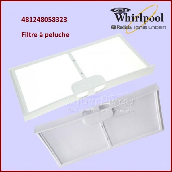 Filtre à peluche Whirlpool 481248058323