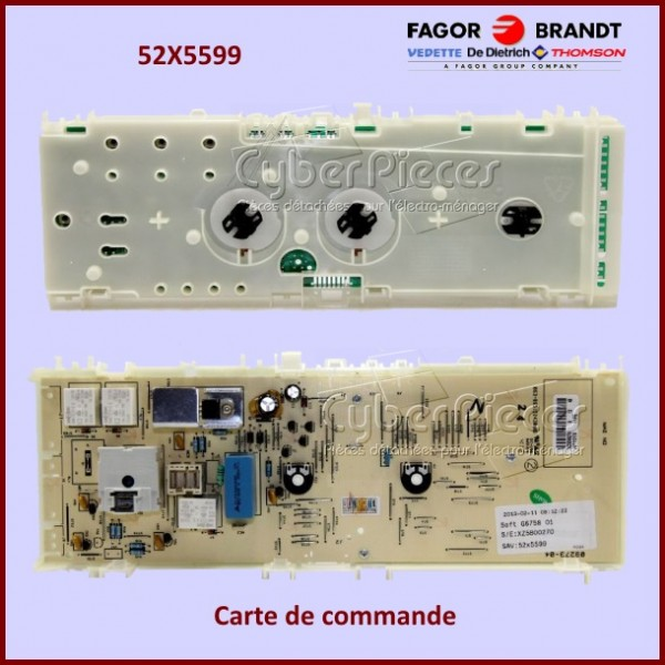 Module de commande Brandt 52X5599
