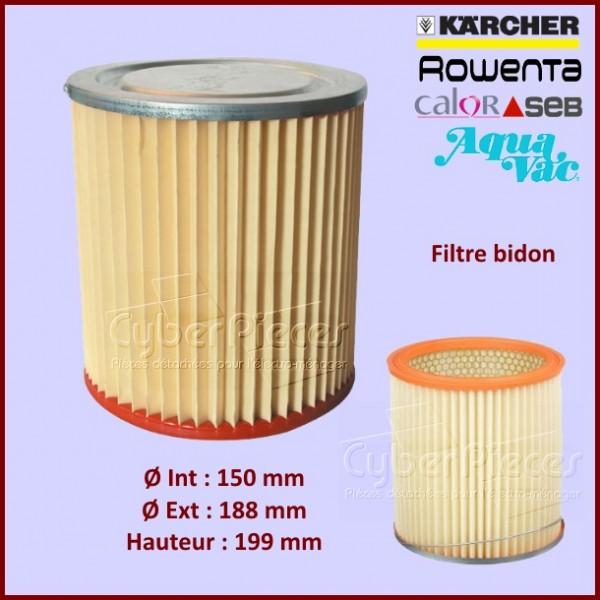 Filtre aspirateur bidon ZR70 - APM619