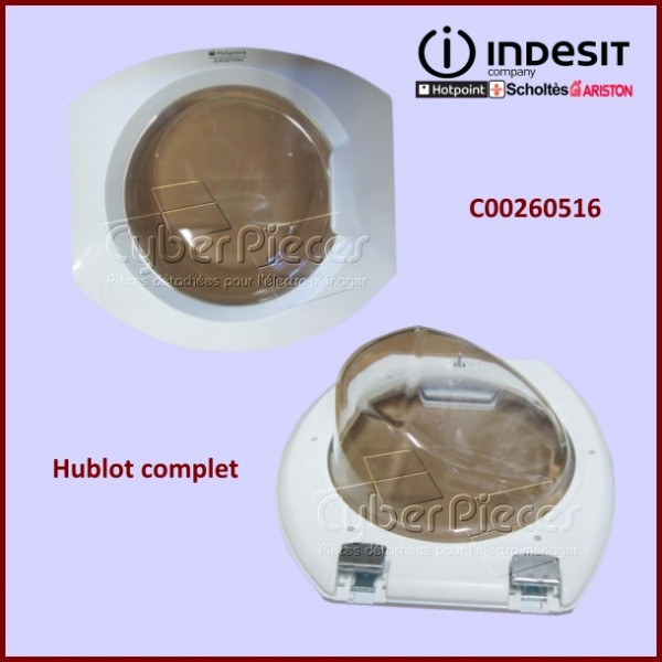 Hublot complet Indesit C00260516