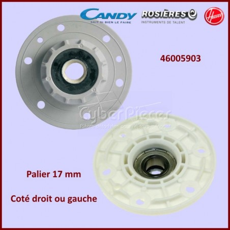 Palier axe 17 mm  Candy  46005903