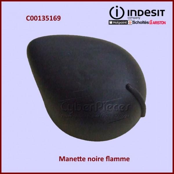 Manette noire flamme Indesit C00135169