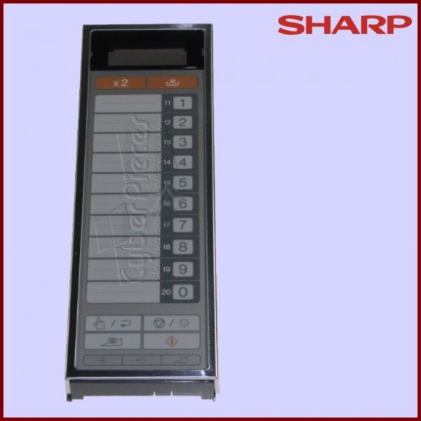 Chassis du Bandeau de Commande Sharp FPNLCB159WRK0