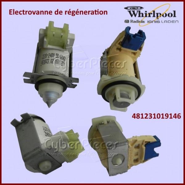Kit électrovanne de régénération Whirlpool 481231019146