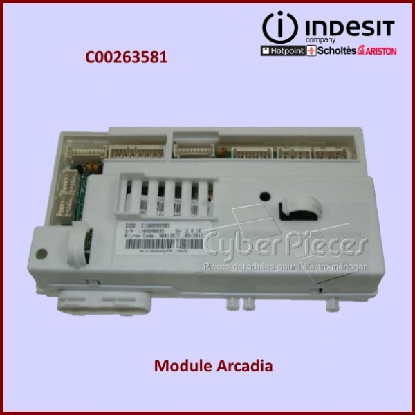 Module ARCADIA FULL WM-WD 1200 G Indesit C00263581