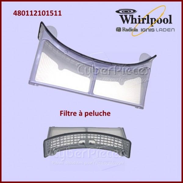 Filtre à peluche Whirlpool 480112101511
