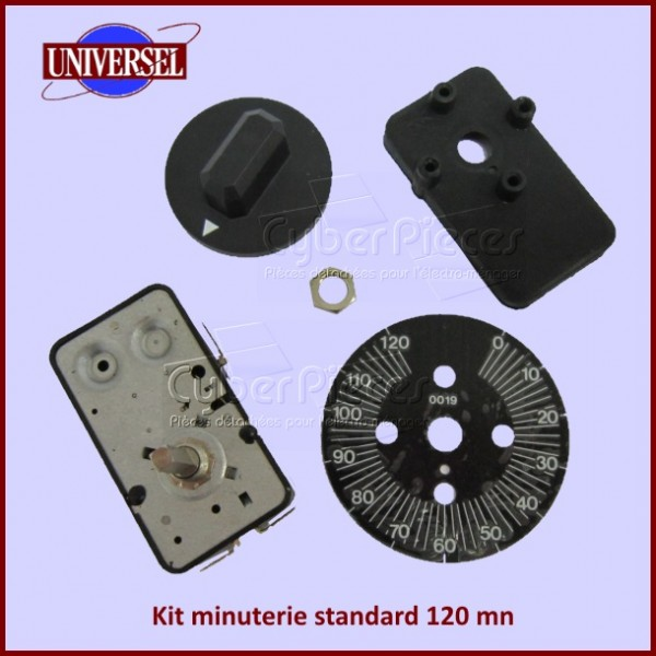 Minuterie 120 mn - kit universel