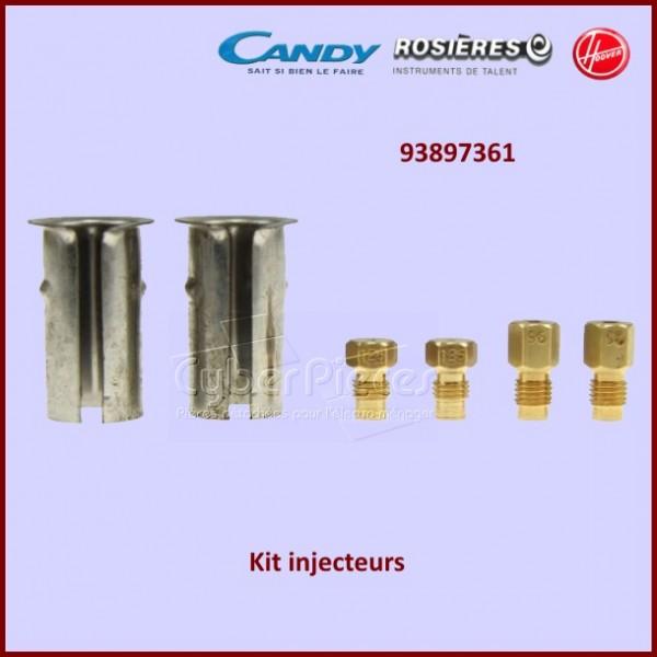 EPUISE** Lot d'injecteurs gaz naturel Candy 93897361