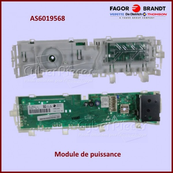 Module de commande Brandt AS0014510