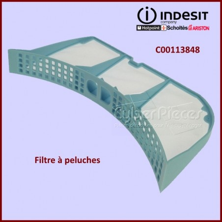 Filtre à peluches Indesit C00113848