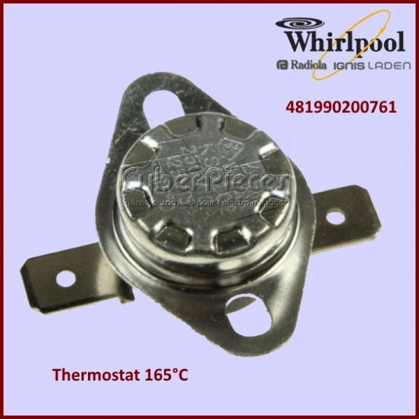 Thermostat 165°C Whirlpool 481990200761