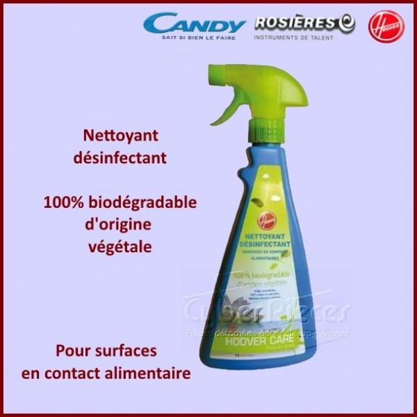 Nettoyant désinfectant contact alimentaire