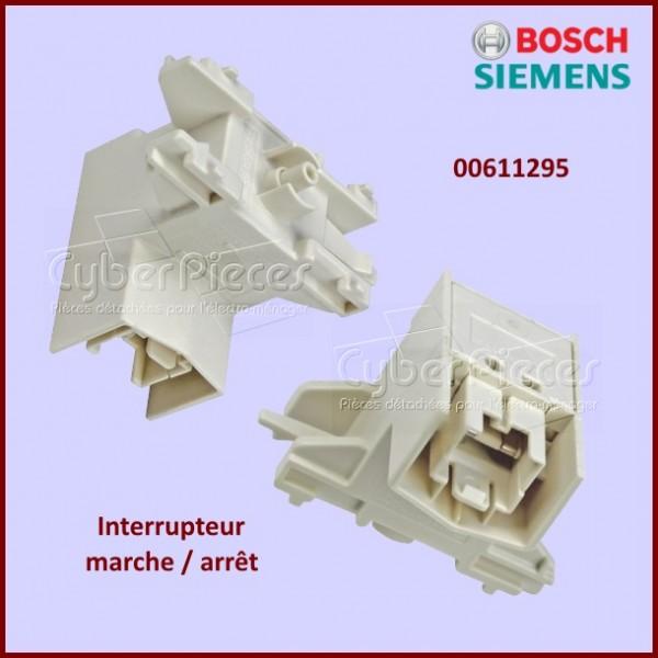 interrupteur marche arr t bosch 00611295 pour lave vaisselle lavage pieces detachees electromenager. Black Bedroom Furniture Sets. Home Design Ideas