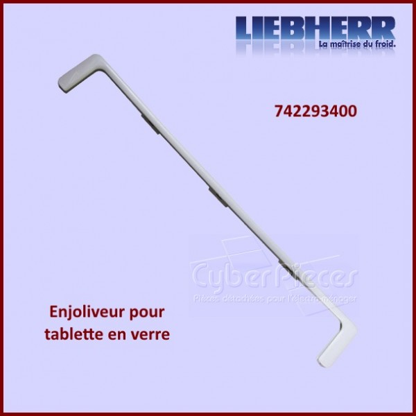 Cadre de maintien de tablette en verre LIEBHERR 7422934