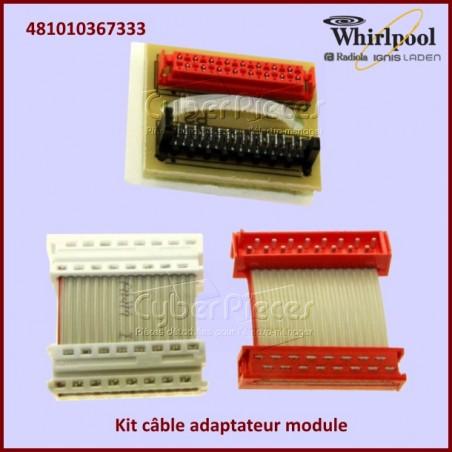Kit câble adaptateur MINERVA Whirlpool 481010367333