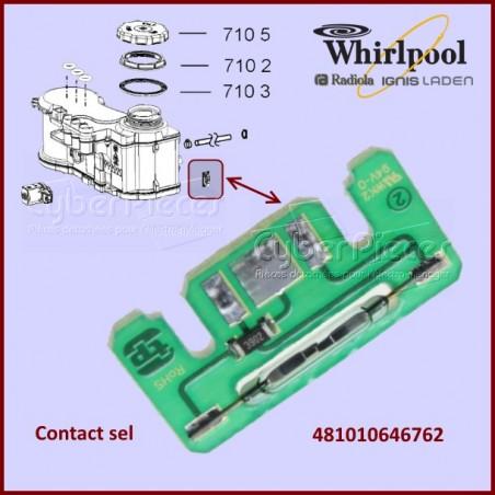 Contact sel 4 pôles T/P Softener 481010646762