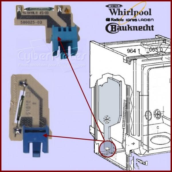 ensemble kit de 2 debimetres 481231019147 pour lave vaisselle lavage pieces detachees electromenager. Black Bedroom Furniture Sets. Home Design Ideas