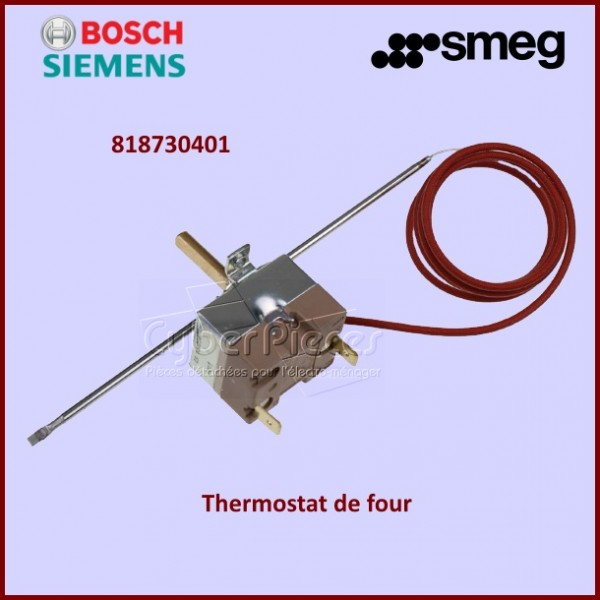 thermostat de four ego 265 smeg 5519052824 pour fours ou cuisinieres cuisson pieces detachees. Black Bedroom Furniture Sets. Home Design Ideas