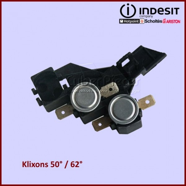 Kit de 2 Thermostats C00056201 INDESIT (50° / 62° )