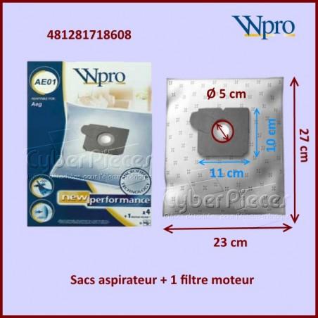 Sac aspirateur GR5 - Wpro 481281718608