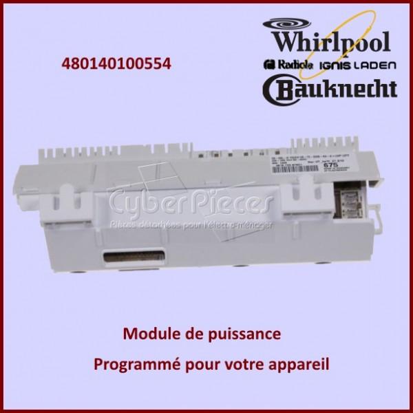 Module de puissance Whirlpool 480140100554