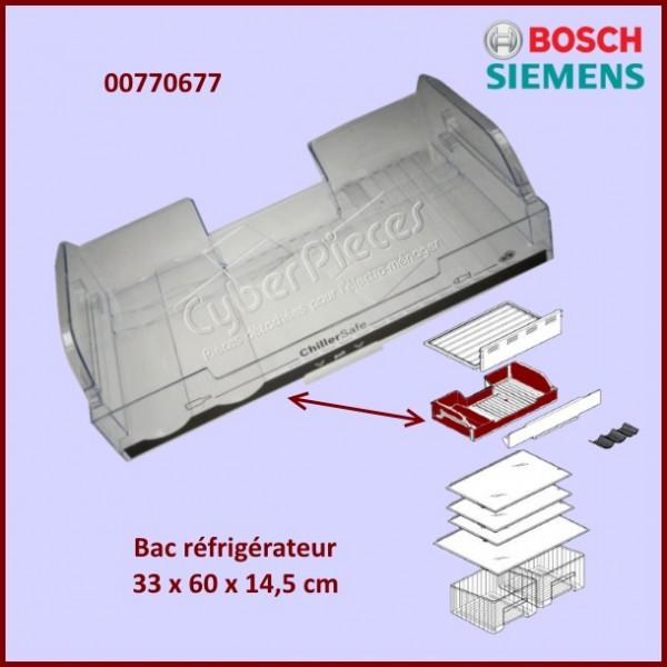 r cipient bac r frig rateur bosch 00770677 pour r frigerateurs et cong lateurs froid pieces. Black Bedroom Furniture Sets. Home Design Ideas