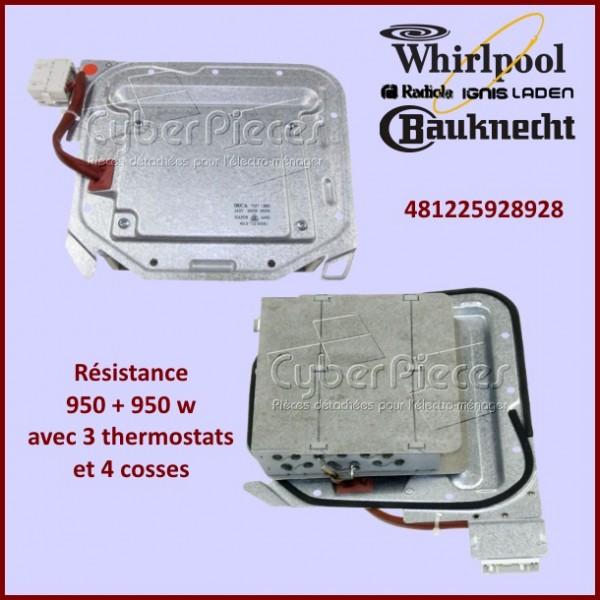 Résistance 950 + 950 w / 230v - 481225928928