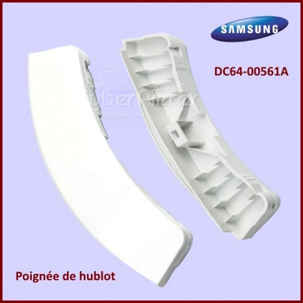 Poignée de hublot Blanche Samsung DC64-00561A
