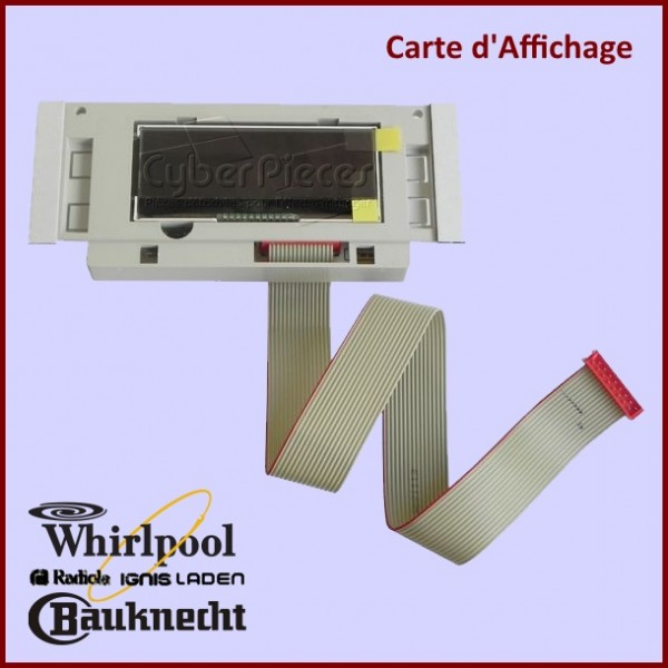 Carte d'affichage 481010364134 Whirlpool