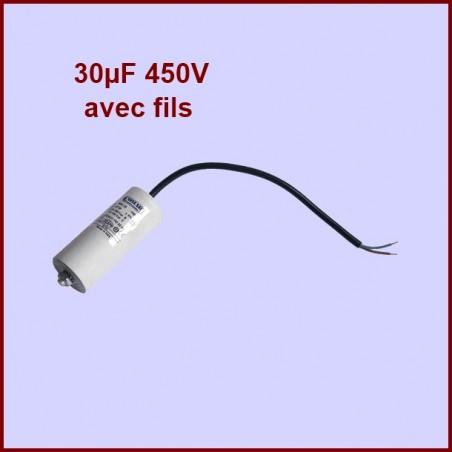 Condensateur 30.0µF (30.0MF) 450 Volts