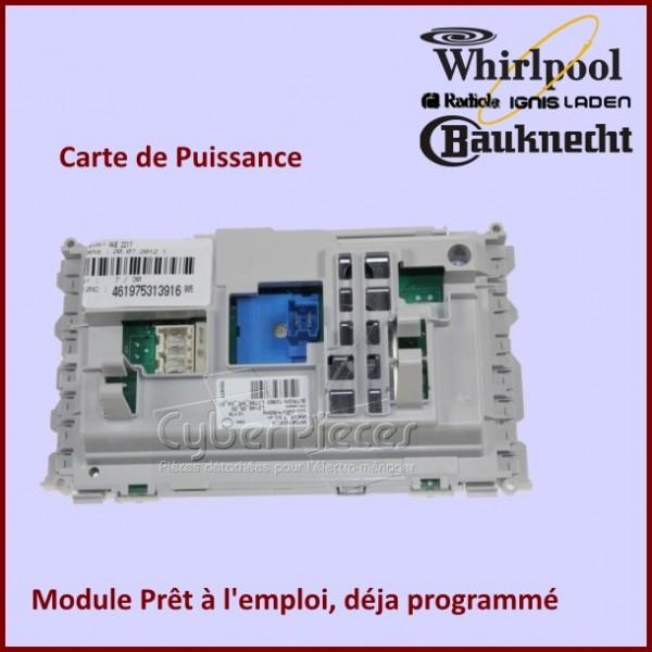 Platine de Puissance Whirlpool 481010438414