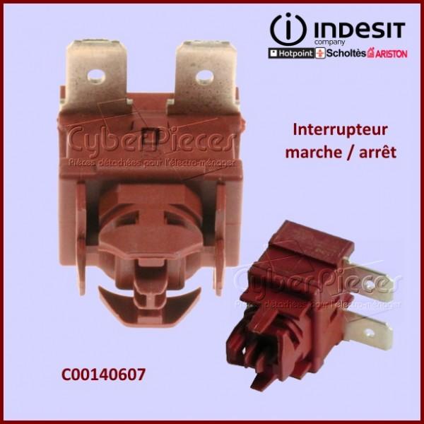 Interrupteur unipolaire Indesit C00140607
