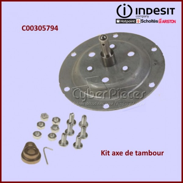 Kit axe de tambour Indesit C00305794