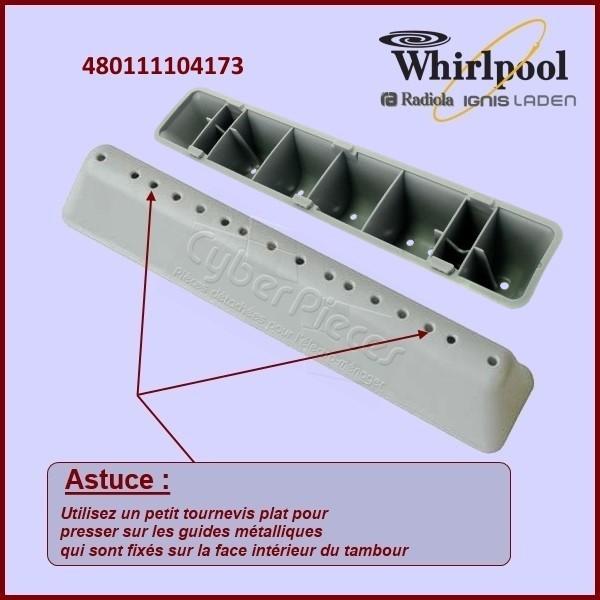 Aube de tambour Whirlpool 480111104173