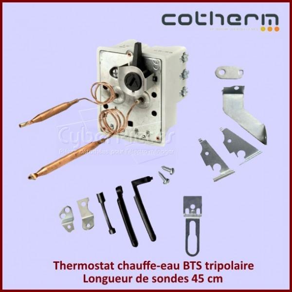 Thermostat chauffe-eau Cotherm BTS Tripolaire 15 A - 380V - Sondes L.45CM