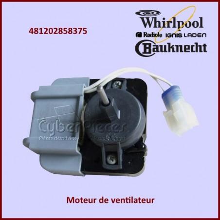 Moteur de ventilateur Whirlpool 481202858375