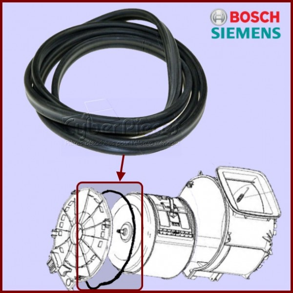 Joint de Flasque 00263376 Bosch Siemens
