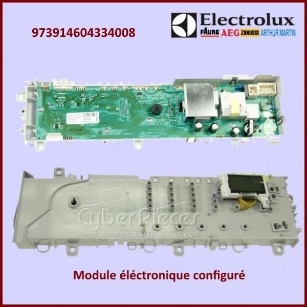 module lectronique configur electrolux 973914604334008 pour modules electroniques machine a. Black Bedroom Furniture Sets. Home Design Ideas