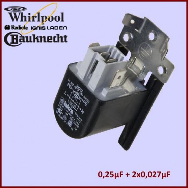 Filtre condensateur Anti-parasite 481212118284