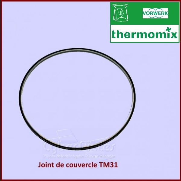 joint de couvercle thermomix tm31 30858 pour robot menager cocotte autocuiseurs petit. Black Bedroom Furniture Sets. Home Design Ideas