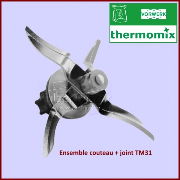 Couteaux + joint Thermomix TM31 30525